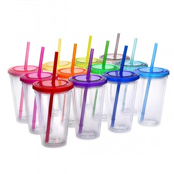 Classic Candy Tumblers 16 oz, 12 Pack