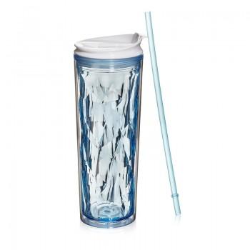 Crystal Tumbler 22 oz - Blue Sapphire