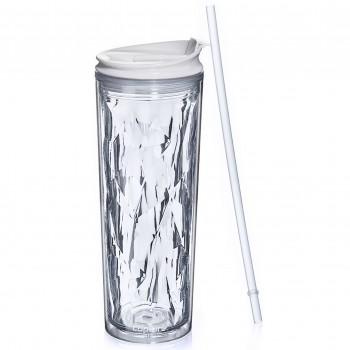 Crystal Tumbler 22 oz - Clear Diamond
