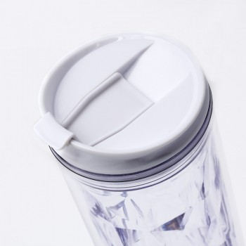 Crystal Tumbler 22 oz - Clear Diamond