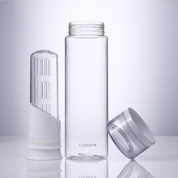 Fruit Infuser Water Bottle, 1 Pack - White color