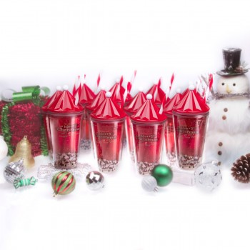 Classic Holiday tumbler 16 oz, 12 Pack