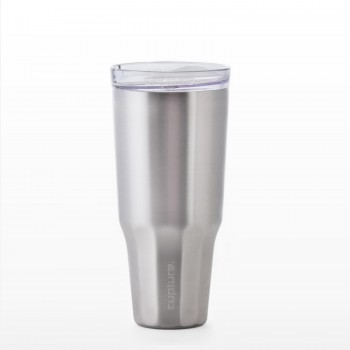 Travel Tumbler Stainless Steel - 32 oz (Silver)