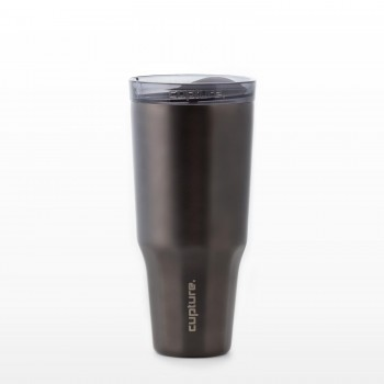 Travel Tumbler Stainless Steel - 32 oz (Titanium Grey)