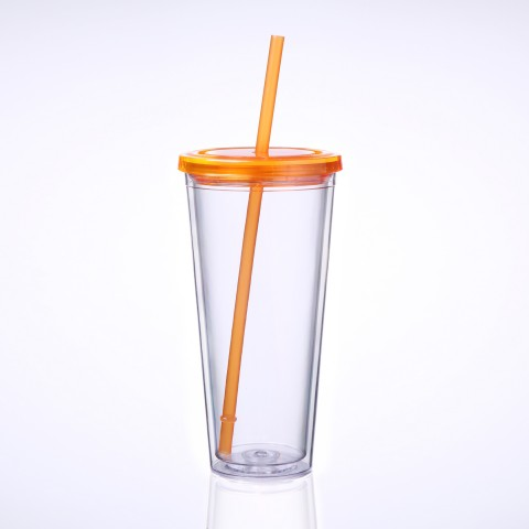 Classic Tumbler 24 oz, Orange