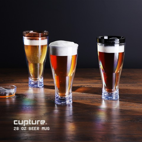 Beer Mug 28 oz,  Black