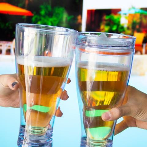 Beer Mug 28oz, Clear