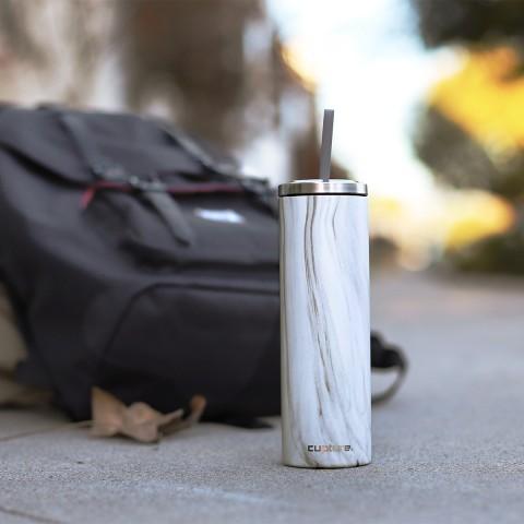 Stainless Steel Skinny Cup - 16 oz, 4 pack