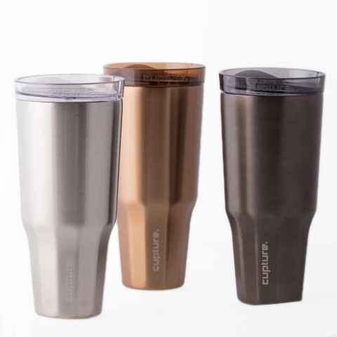 Travel Tumbler Stainless Steel - 32 oz (Copper)