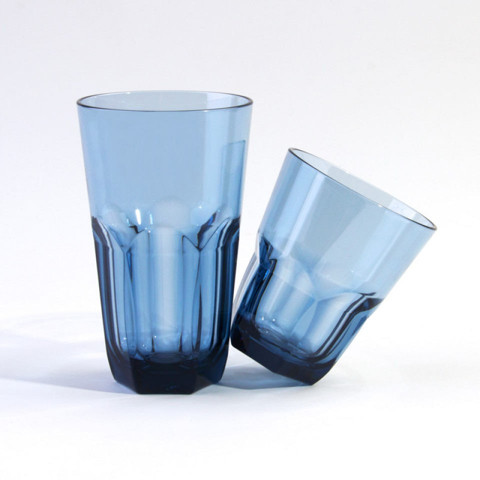Cupture Everyday Plastic Tumblers In 22oz And 14oz 8 Pack